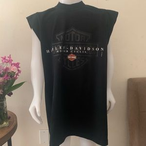 Harley Davidson sleeveless T-shirt
